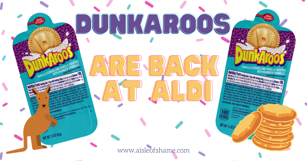 Dunkaroos at Aldi