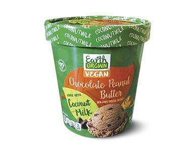 coconut milk ice cream chocolate peanut butter