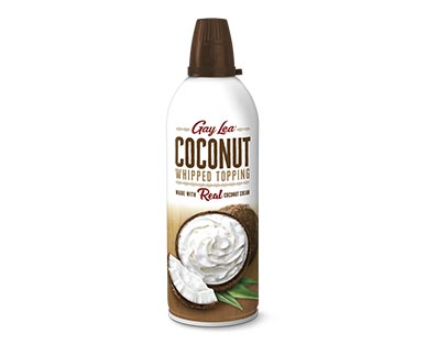 coconut whipped topping