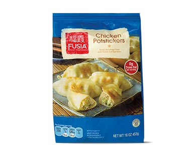 fusia chicken pot stickers