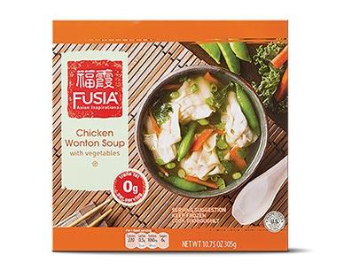 fusia chicken wonton soup