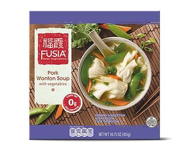 fusia pork wonton soup