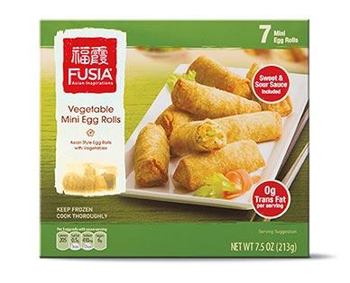 fusia veggie mini egg rolls