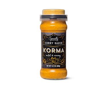 korma curry sauce