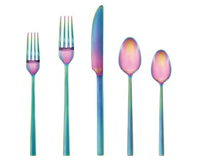 Crofton unicorn flatware set