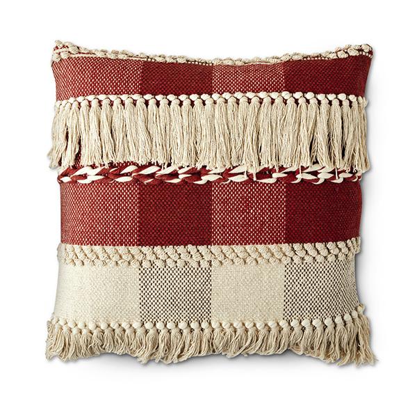 aldi Huntington Home Macrame Decor Pillow