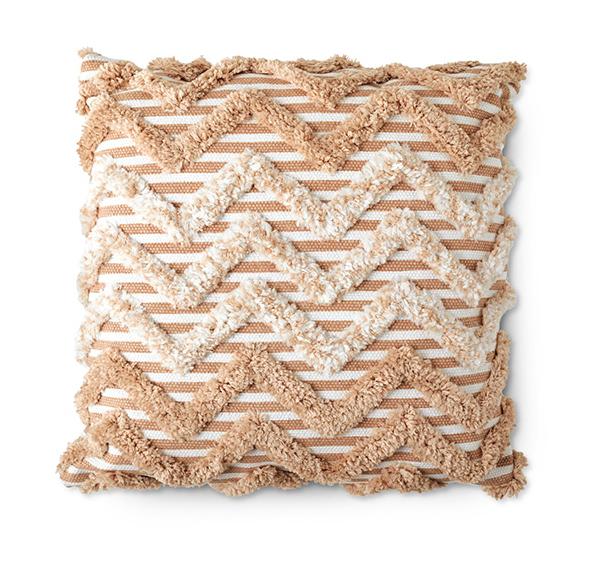 aldi Macrame Decor Pillow