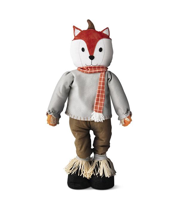 Tabletop Scarecrow Fox