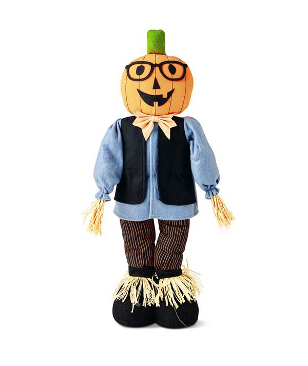 Tabletop Scarecrow Pumpkin Boy
