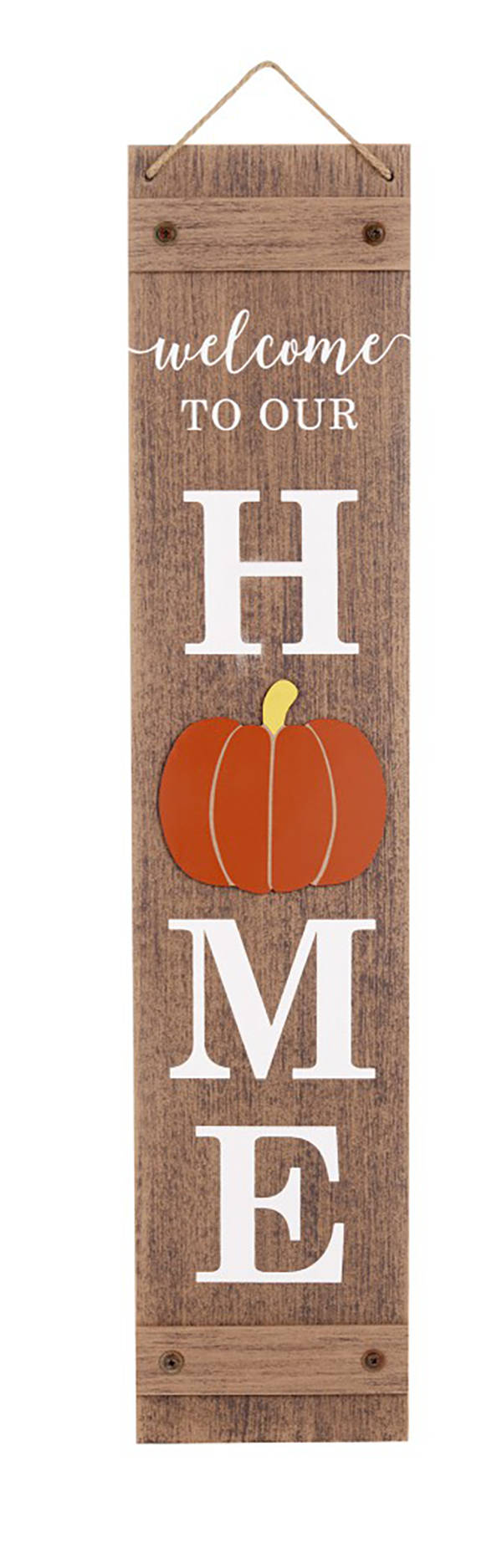 Fall Reversible Porch Sign welcome to our home