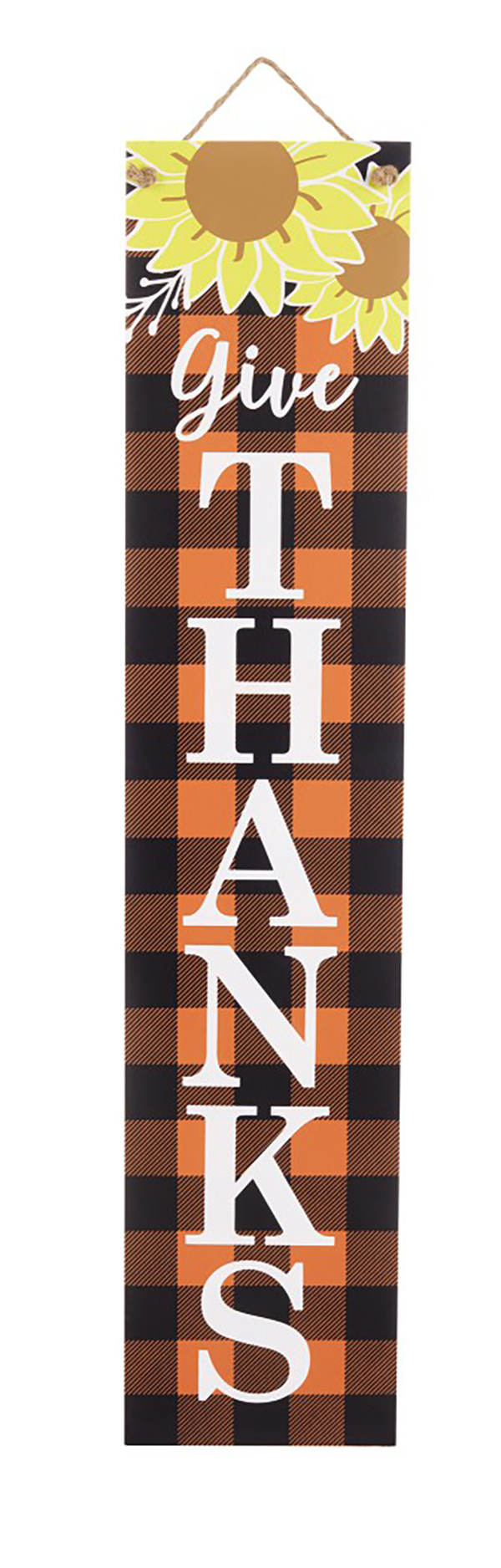 Aldi Fall Reversible Porch Sign give thanks