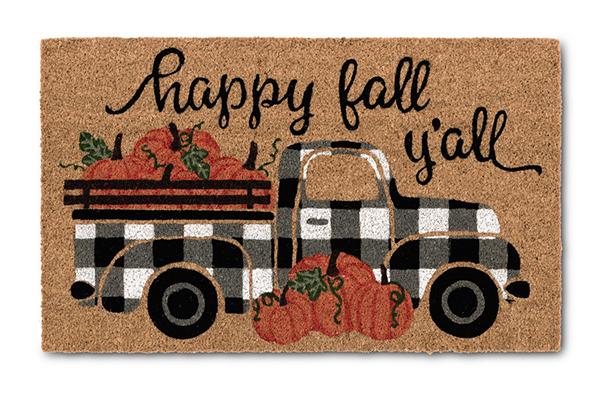 aldi happy fall y'all mat