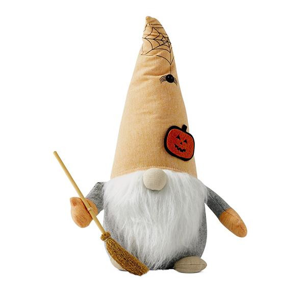 Huntington Home fall gnomes broom