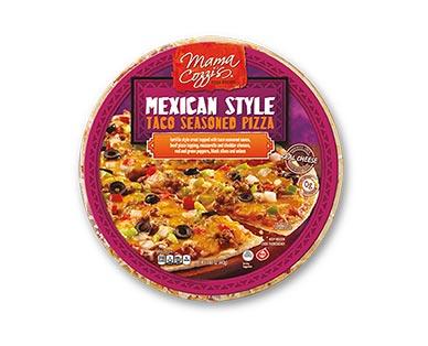 Mama Cozzi's Mexican Style Taco Seasoned Pizza