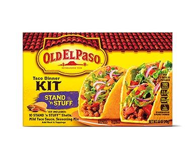 Old El Paso Stand N Stuff Taco Dinner Kit