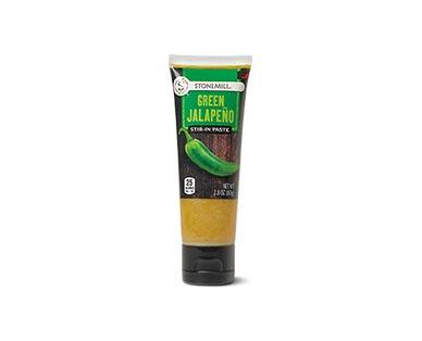 Stonemill Green Jalapeno Stir-In Paste
