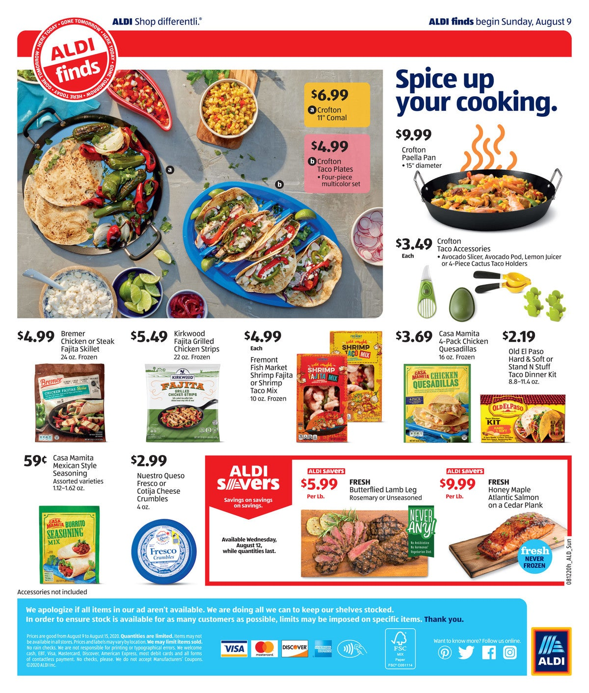 Aldi Ad Preview Mexican Week