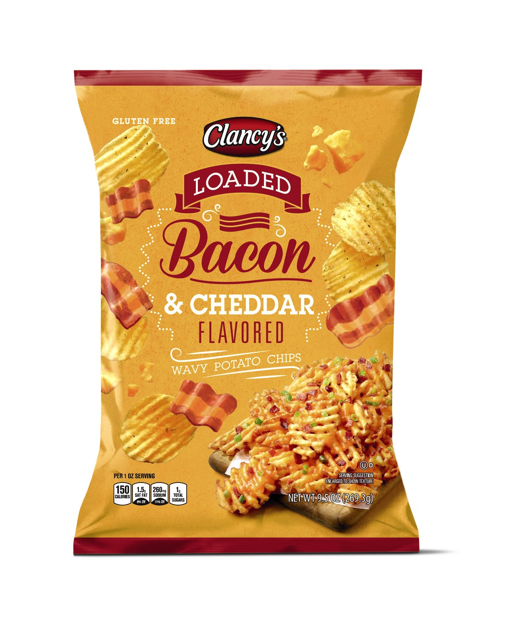 loaded bacon cheddar chips