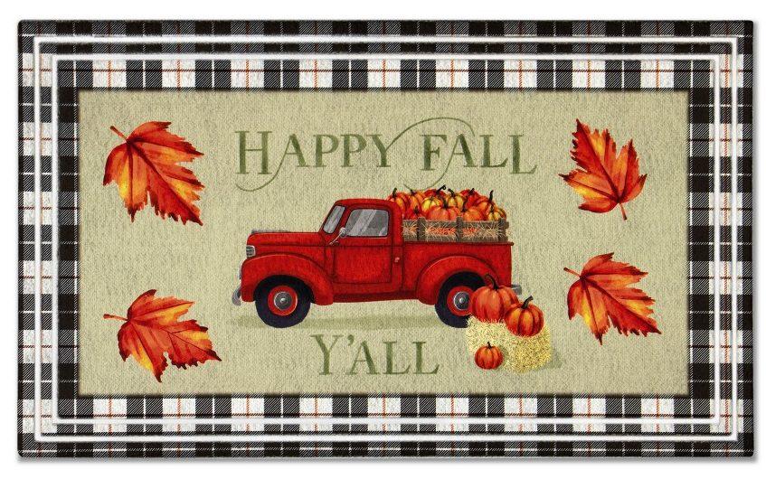 Aldi Fall Truck Mat