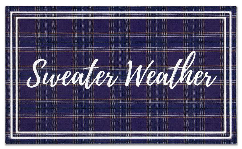 Aldi sweater weather mat