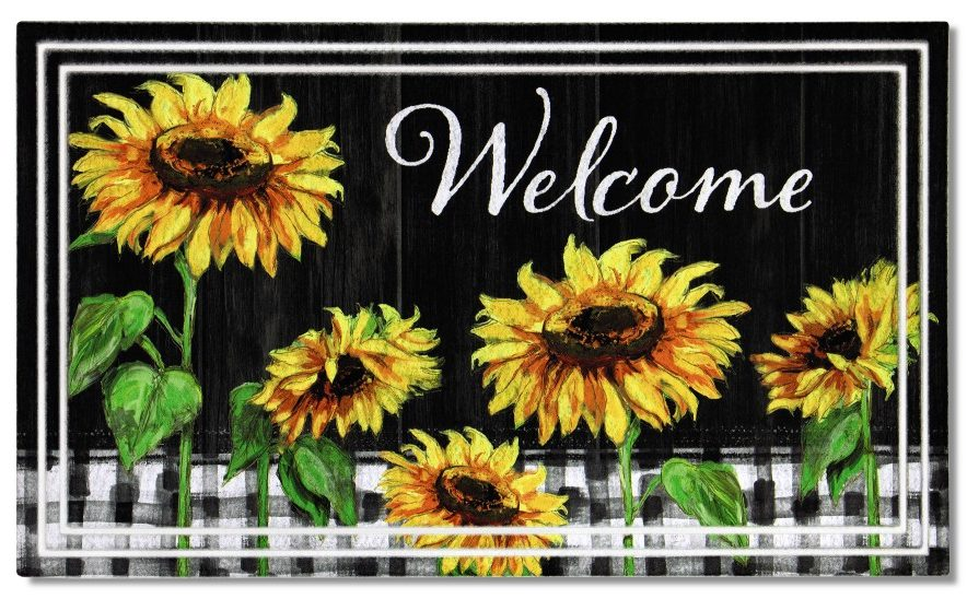 Aldi sunflower mat
