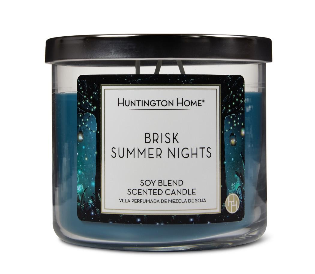 Brisk Summer Nights Aldi candle
