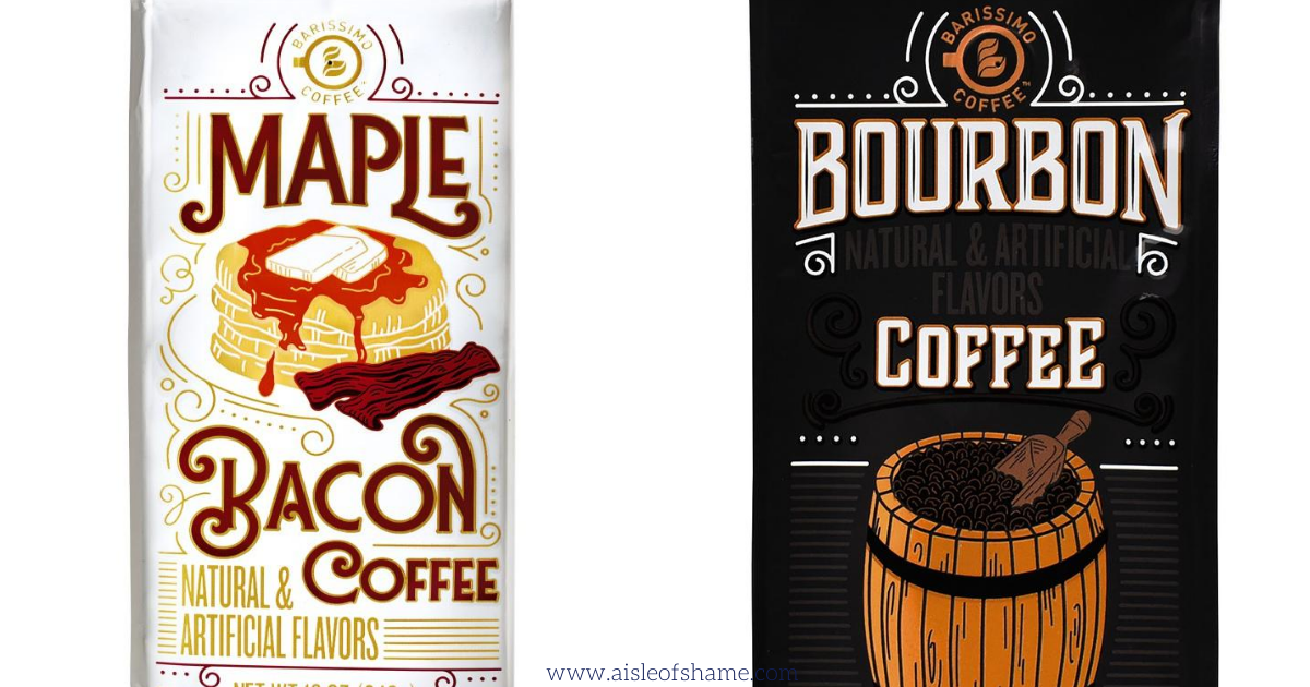 maple bacon coffee at Aldi