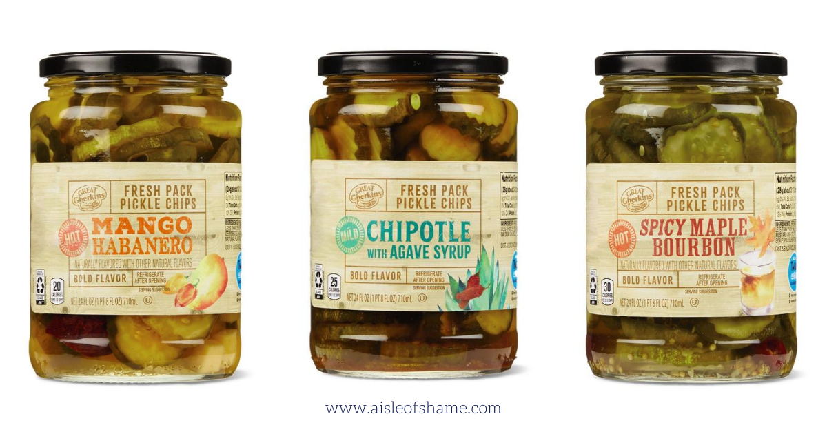 Spicy Pickle Jars