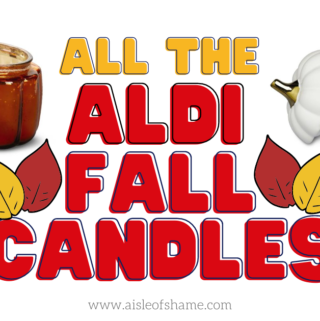 Aldi Fall Candles
