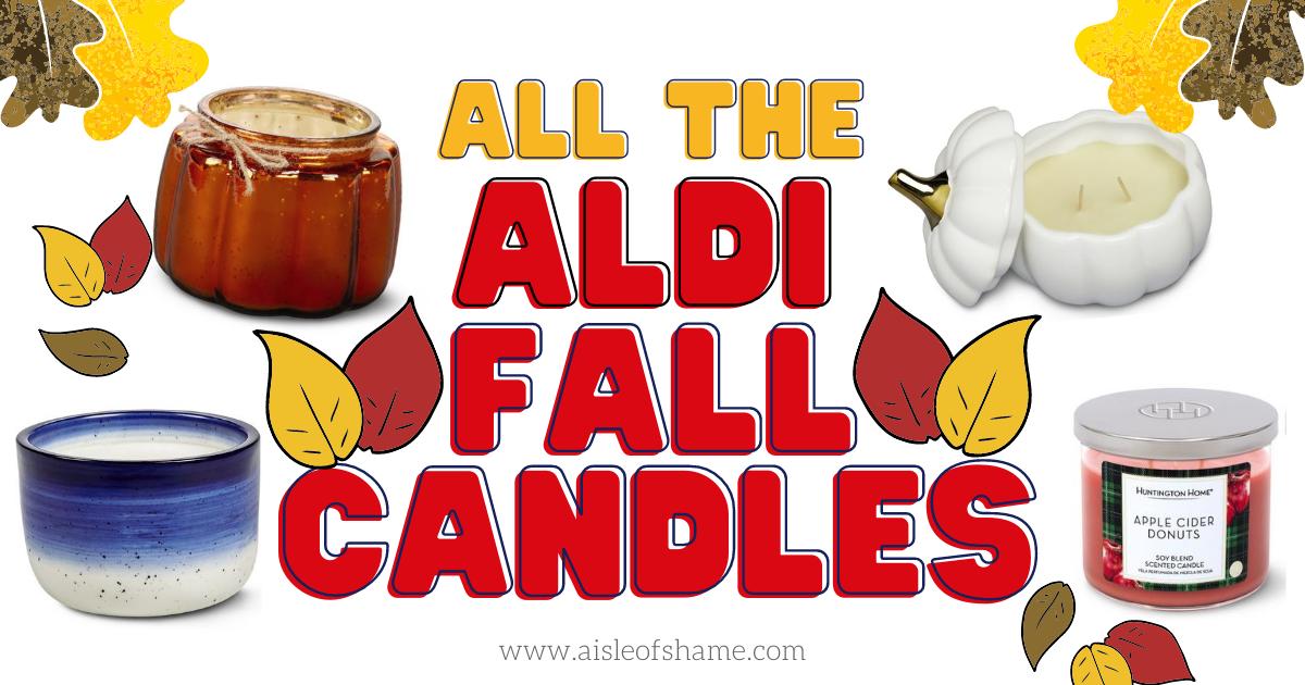Aldi Fall Candles