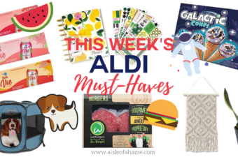 Aldi musy haves week of August 5th 2020