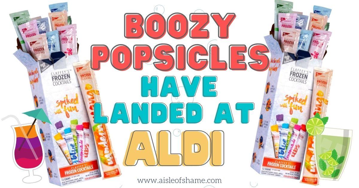 boozy popsicles Claffey's Frozen Cocktails