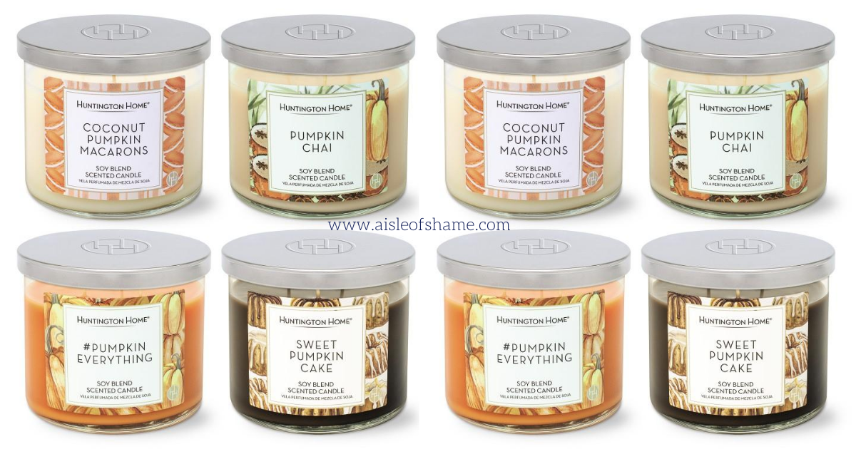 Fall 3-wick candles