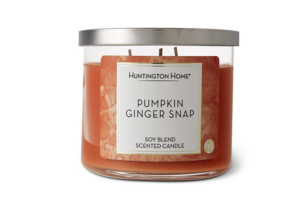 aldi pumpkin ginger snap candle