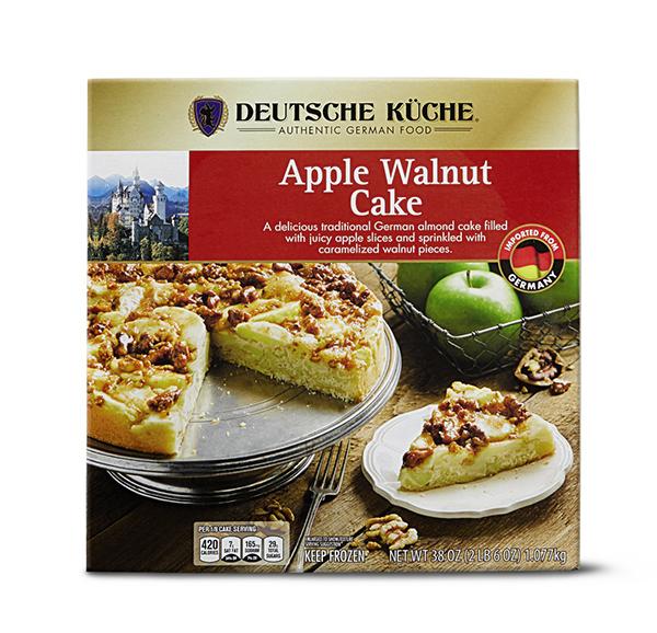 Deutsche Küche German Cakes Apple Walnut or Bienenstich Available 9/22 $6.99
