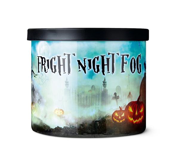 Aldi fright night fog candle