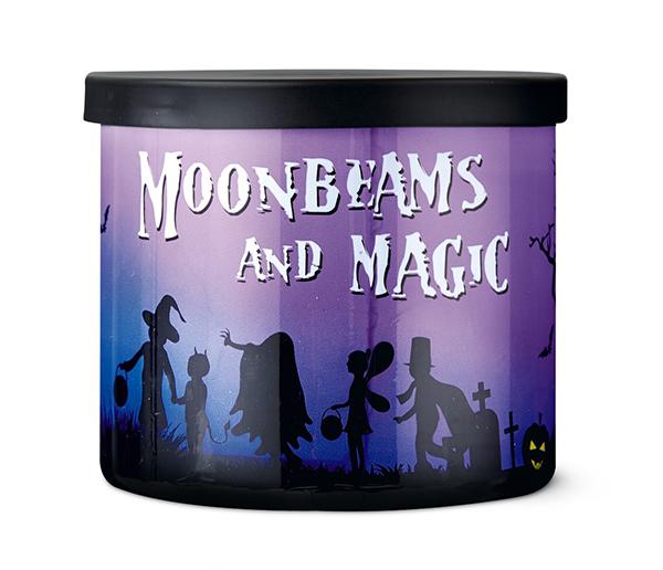 aldi moonbeams and magic halloween candle