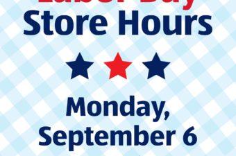 aldi labor day hours