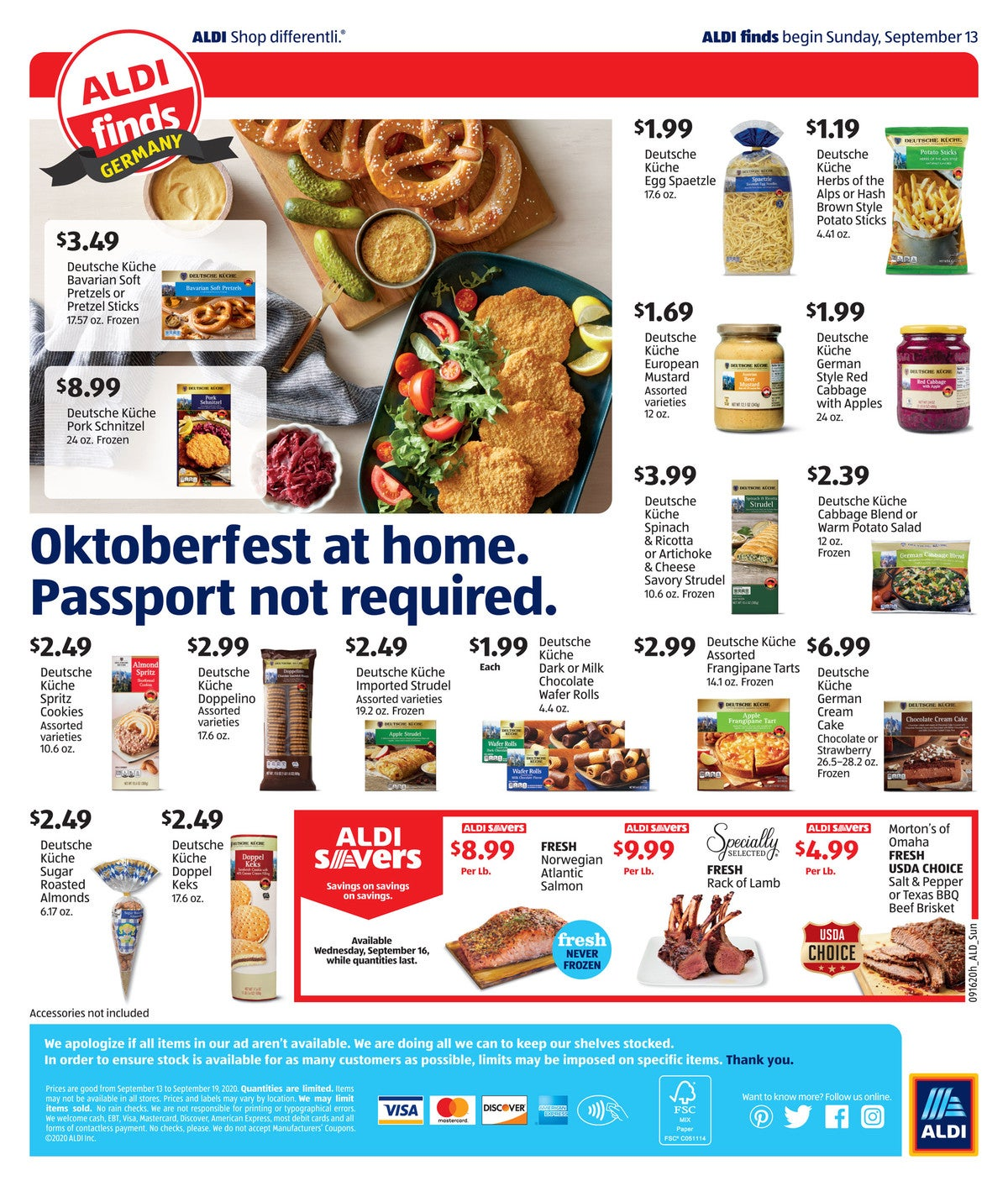 Ad preview German oktoberfest week 2020