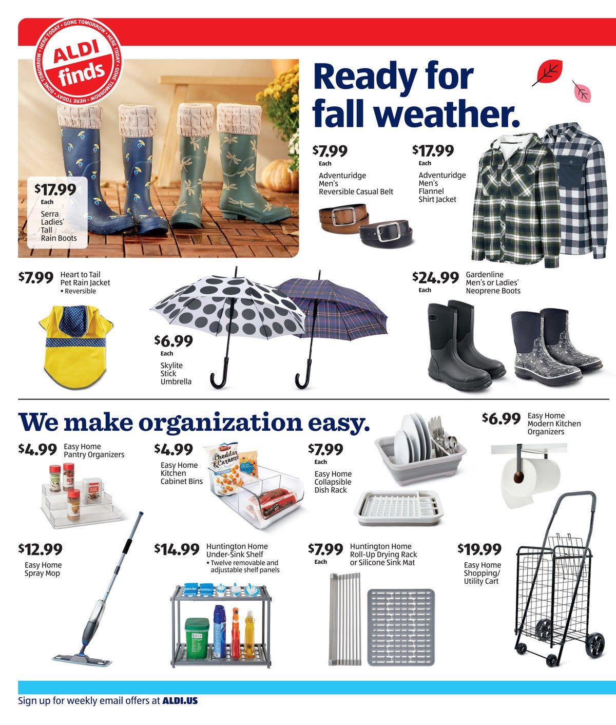 Aldi ad preview for September 30 - October 6 2020