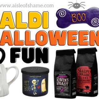 Aldi Halloween Stuff