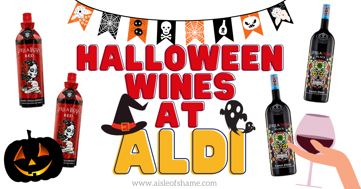 Aldi Halloween Wines