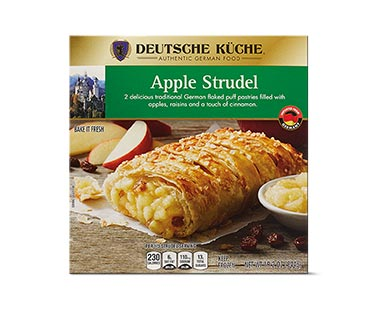 Aldi german week apple strudel
