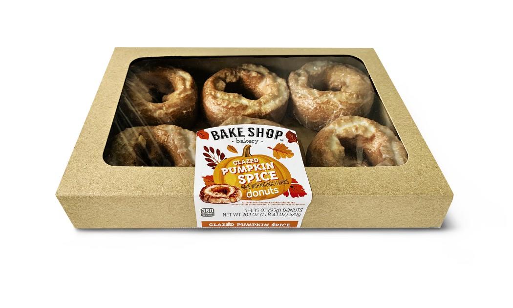 bake shop pumpkin donuts