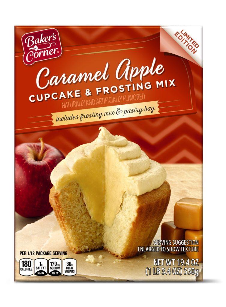 caramel apple cupcake mix