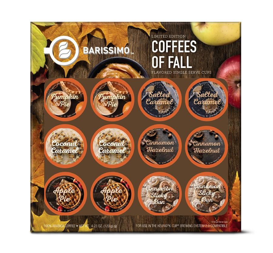 fall coffee pods at aldi