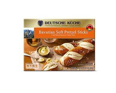 german week pretzel sticks