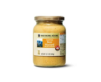 german week beer mustard at aldi