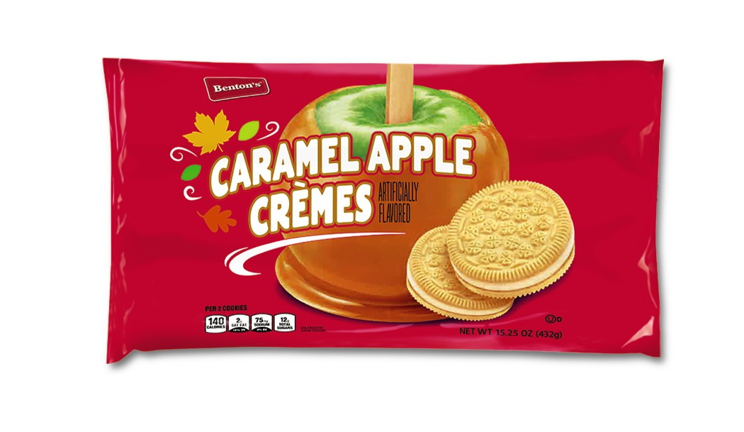 Caramel apple creme cookies