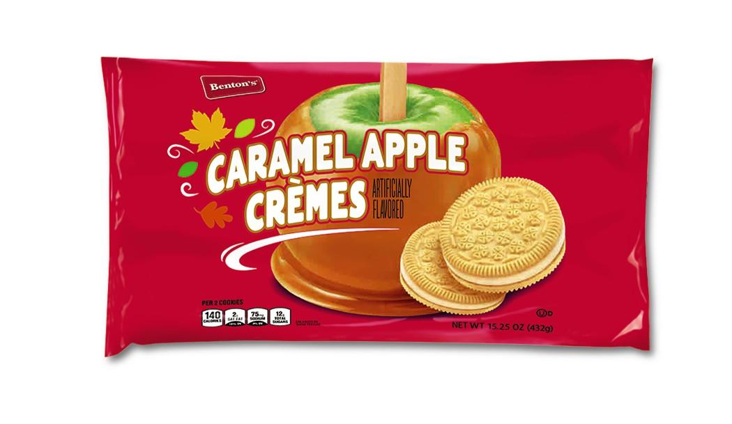 Aldi caramel apple cremes cookies